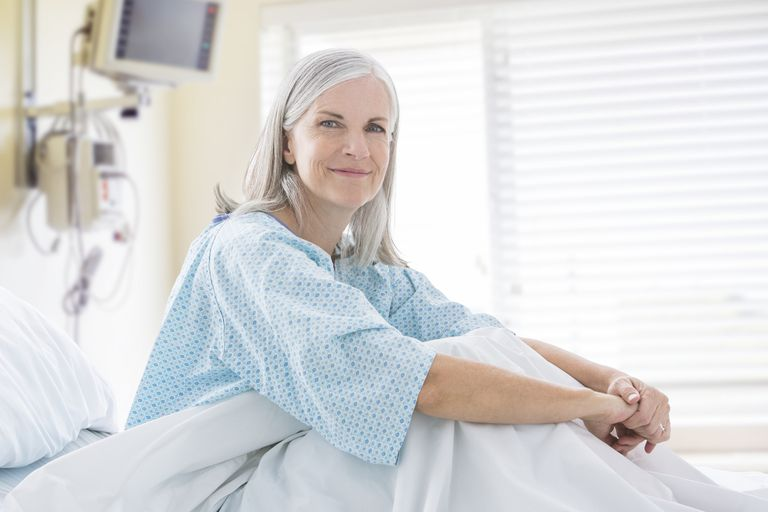 Woman in the Hospital