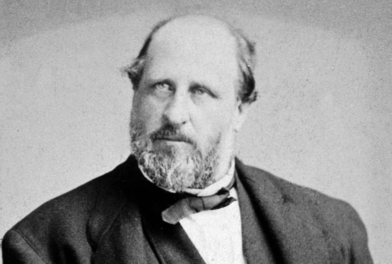 Photographic portrait of Boss Tweed