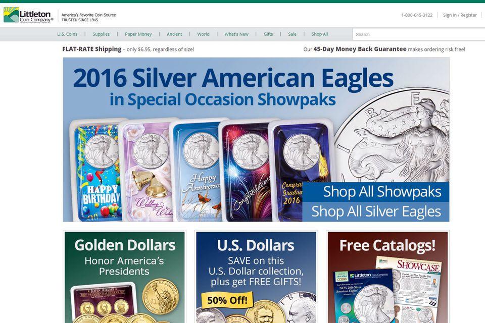 Littleton Coin Company Website