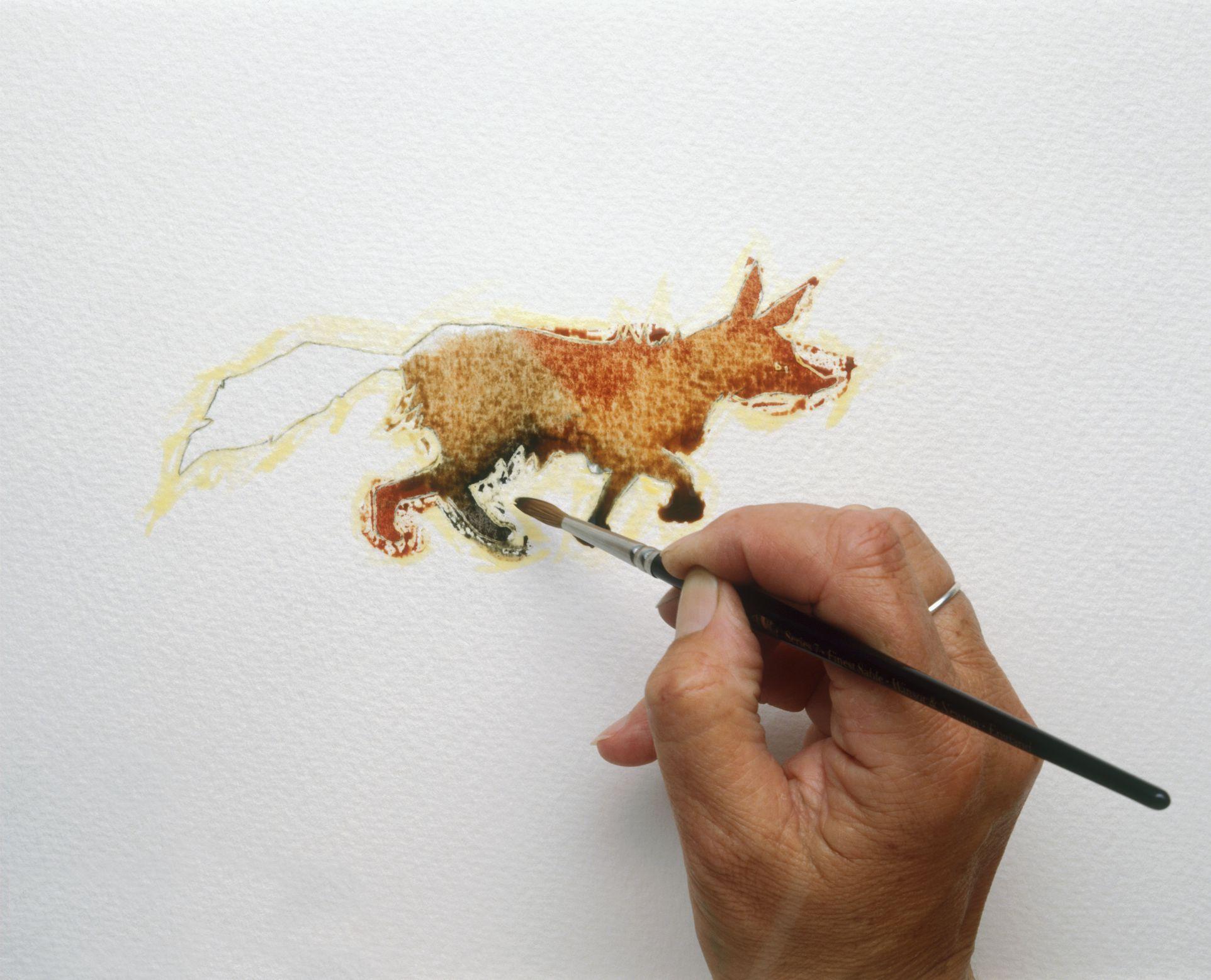 Como hacer pintura con cafe - Tonos de pintura ...