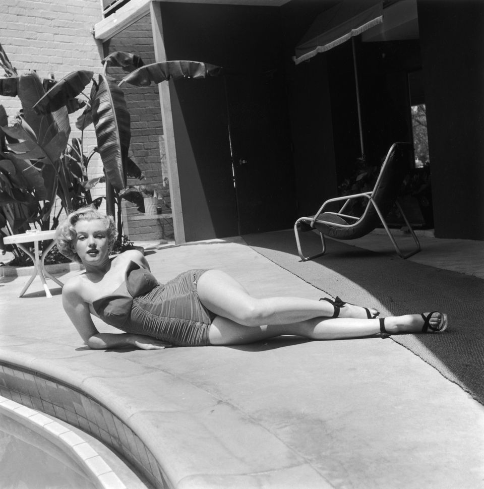 marilyn monroe swimming pool
