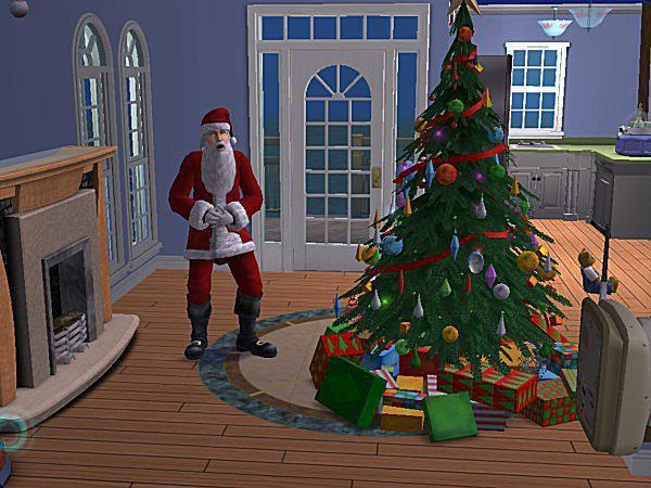 santa clause arrives for christmas - Santa And Christmas 2