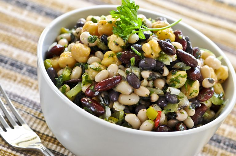Bean salad is a Blue Zone dish