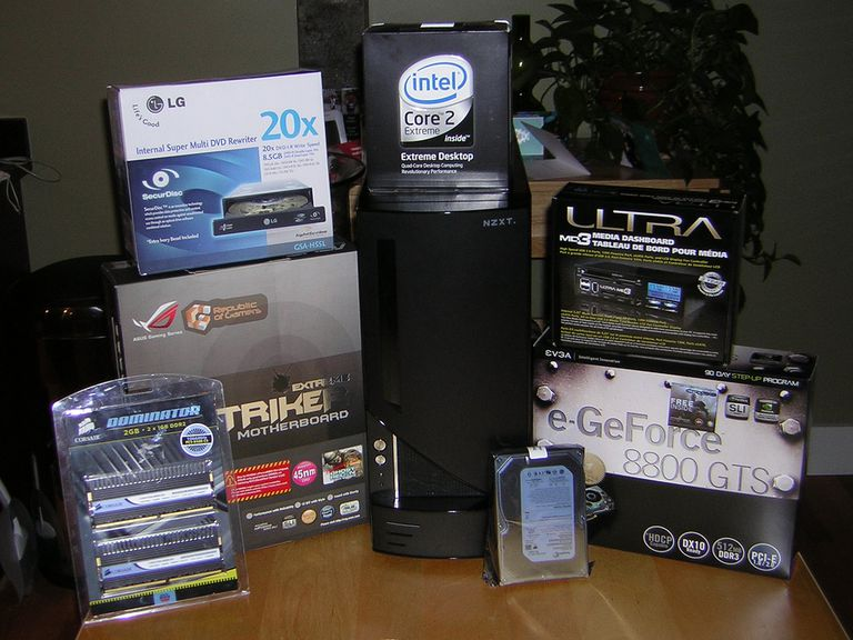 Build Your Own Gaming PC Components