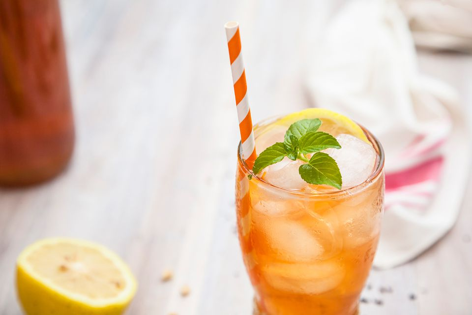 Mango Iced Tea with Canadian Club Whisky