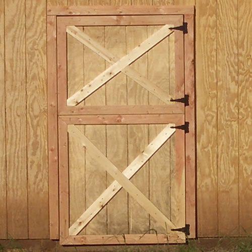 Split-Level Barn Door