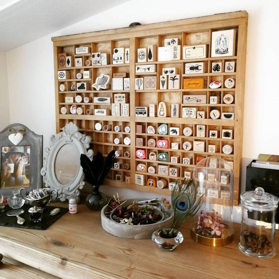 How to repurpose letterpress drawers