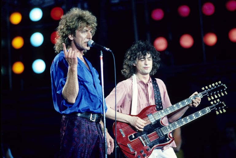 Led Zeppelin Live Aid