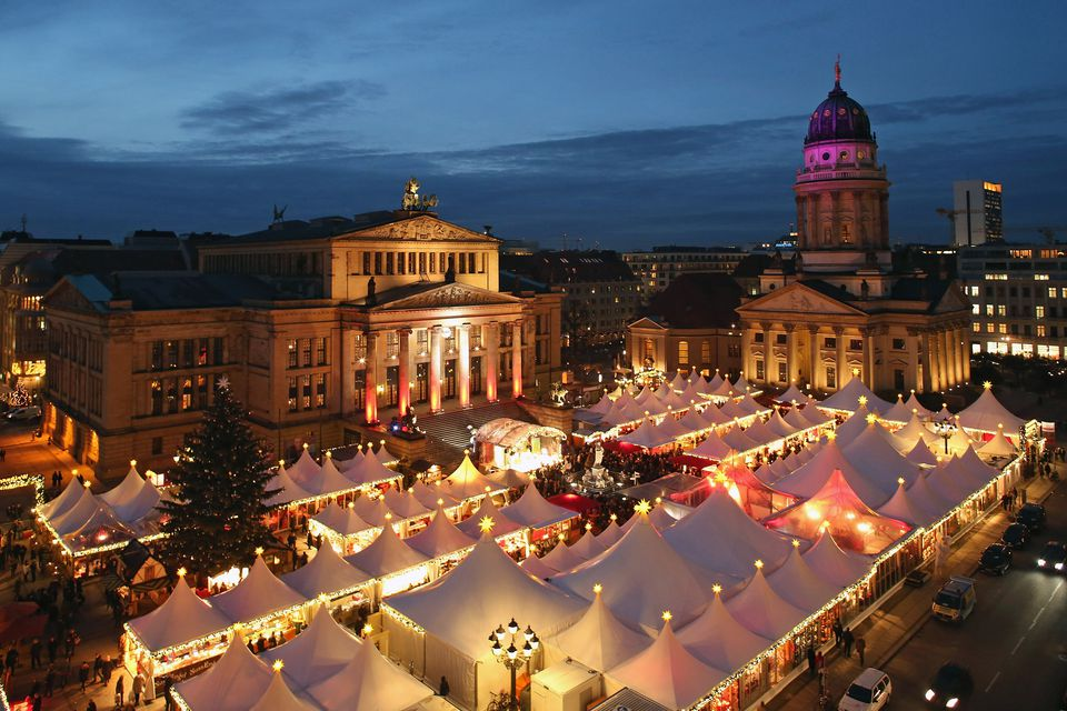 The Christmas Market in Berlin