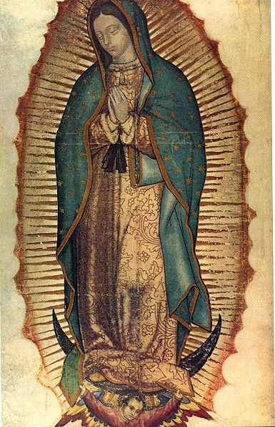 Mary Guadalupe Mexico