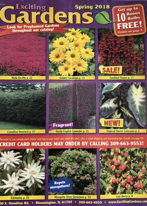 garden seed catalogs. Exciting Gardens\u0027 Free Seed Catalog Garden Catalogs