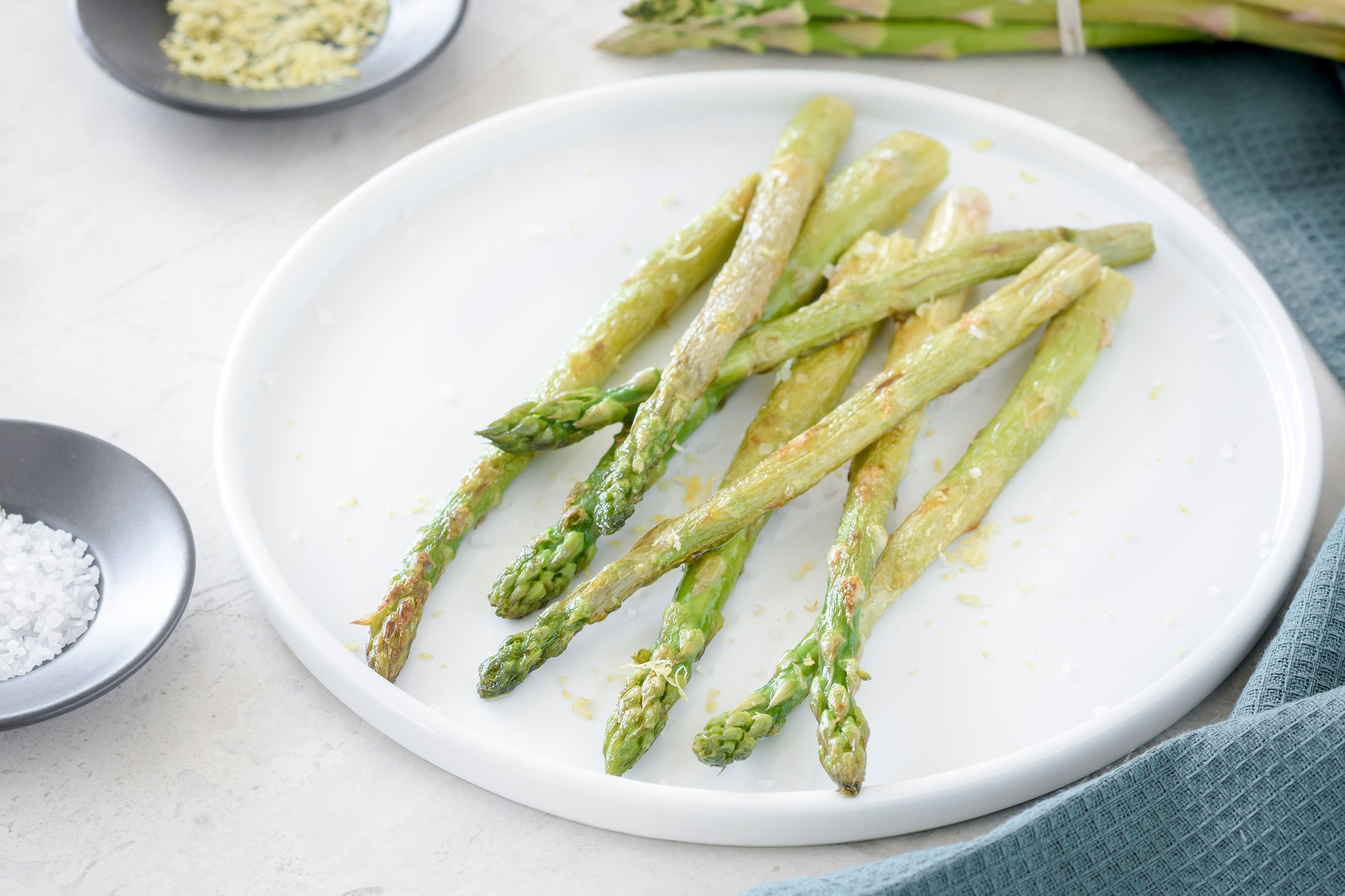 Pan Roasted Asparagus Recipe