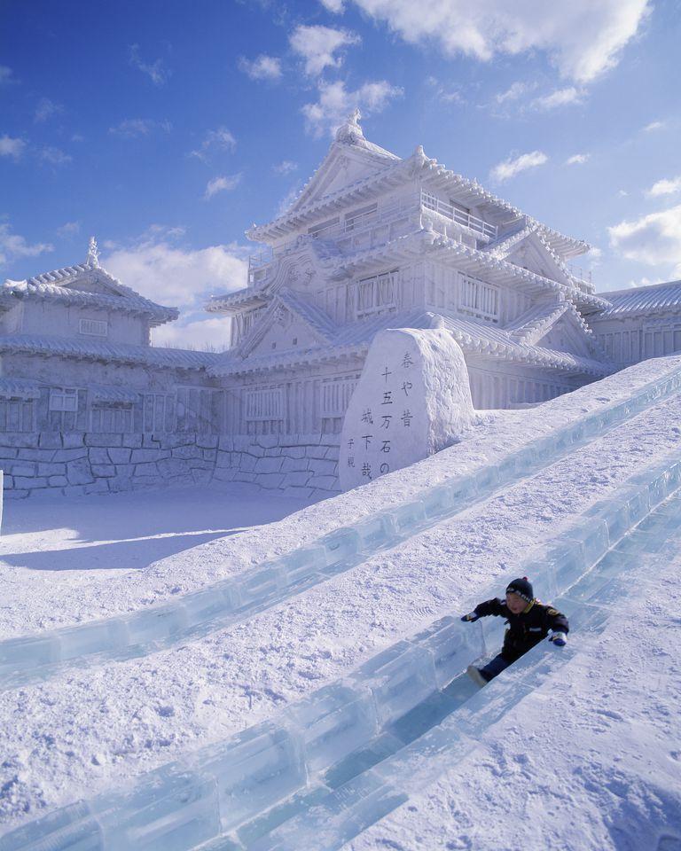 SNOW FESTIVAL, SAPPORO, JAPAN