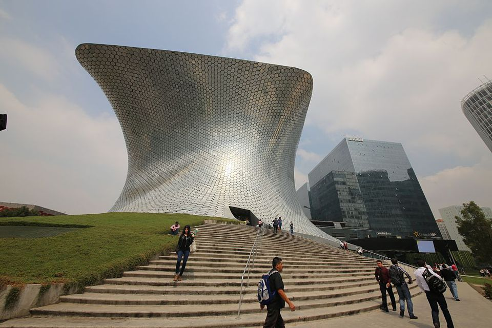 Art Car Museum >> Museo Soumaya Art Museum in Mexico City
