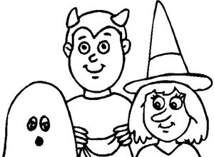 dltks halloween coloring pages - Printable Halloween Coloring Pages