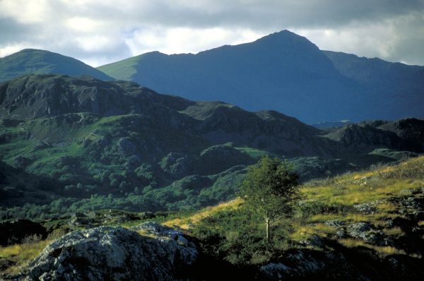 Snowdon, seen from the South