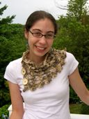 Lace Cowl-Style Scarf