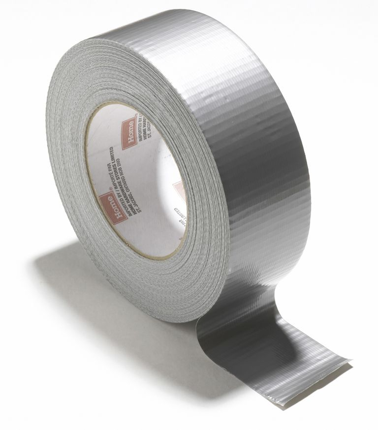 Duck tape is one of several types of friction tape that exhibit triboluminescence.