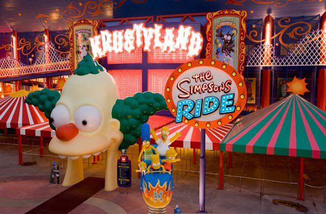Simpson's Ride at Universal Orlando