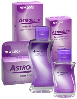 different sizes of bottles of Astrolgide lubricant
