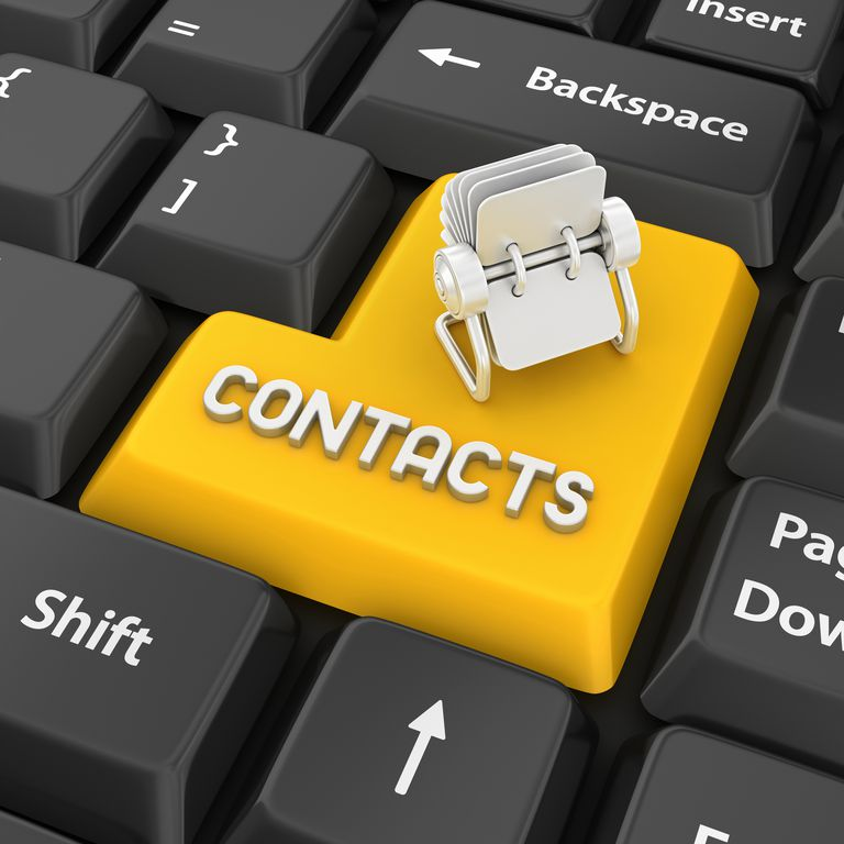 contacts enter key