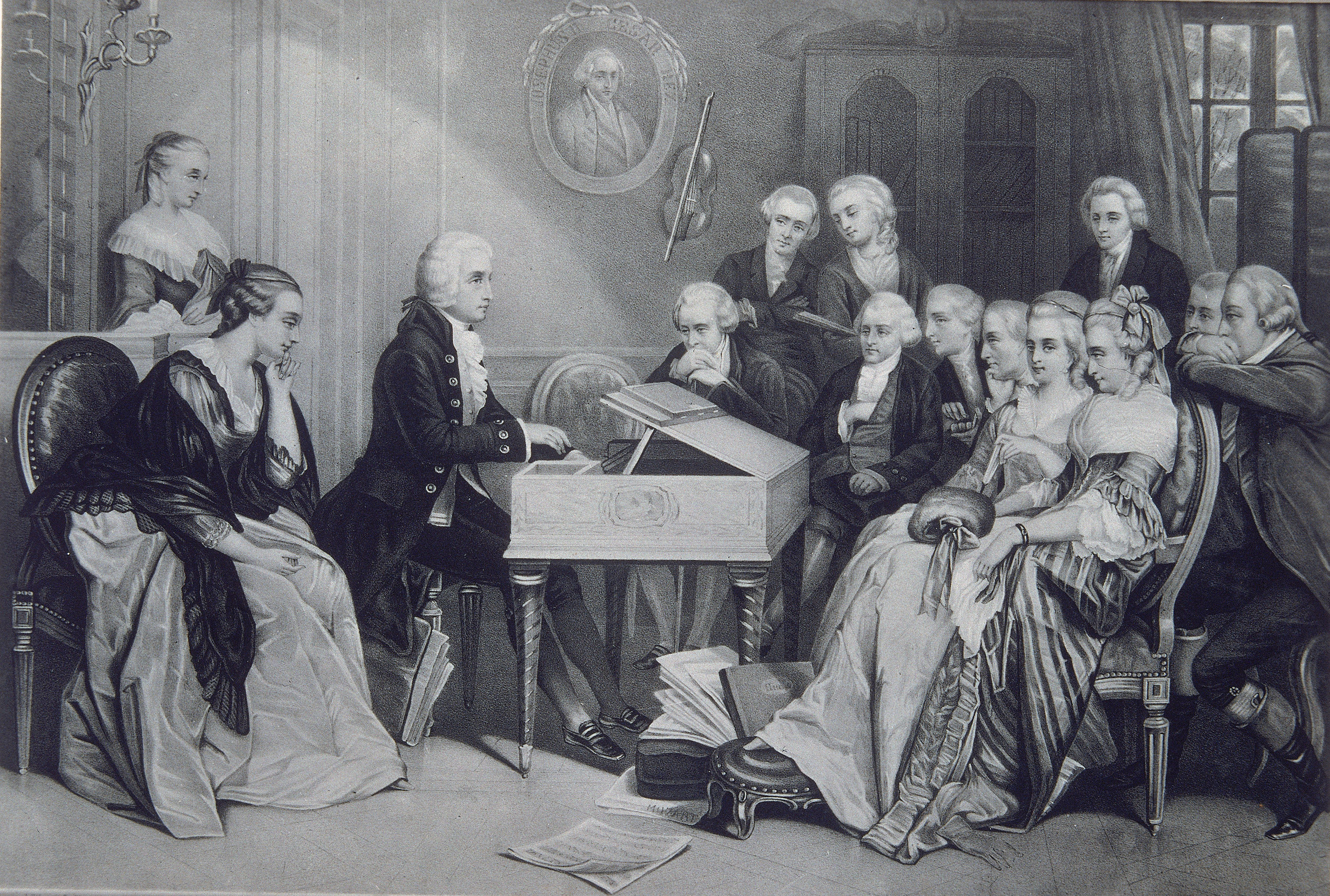 The Beethoven, Haydn and Mozart Connection
