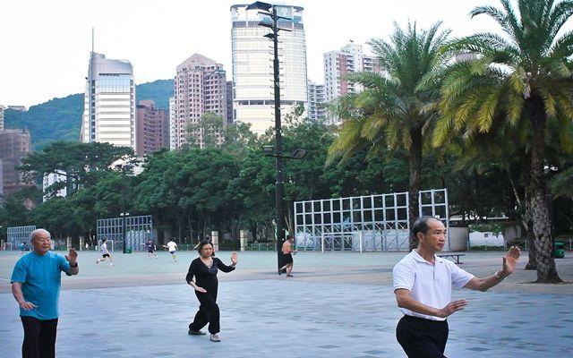 Tai Chi in Hong Kong