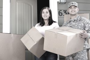 Military family moving