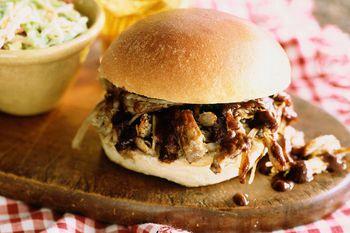 Easy 4 Ingredient Crockpot Pork Barbecue Recipe