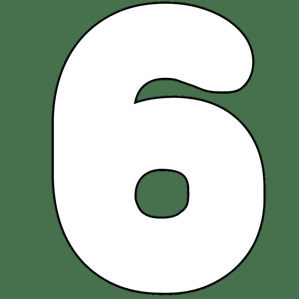 free printable numbers 0
