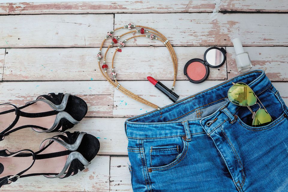 make up jeans packing list