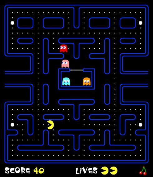 Pac Man Online Game 2