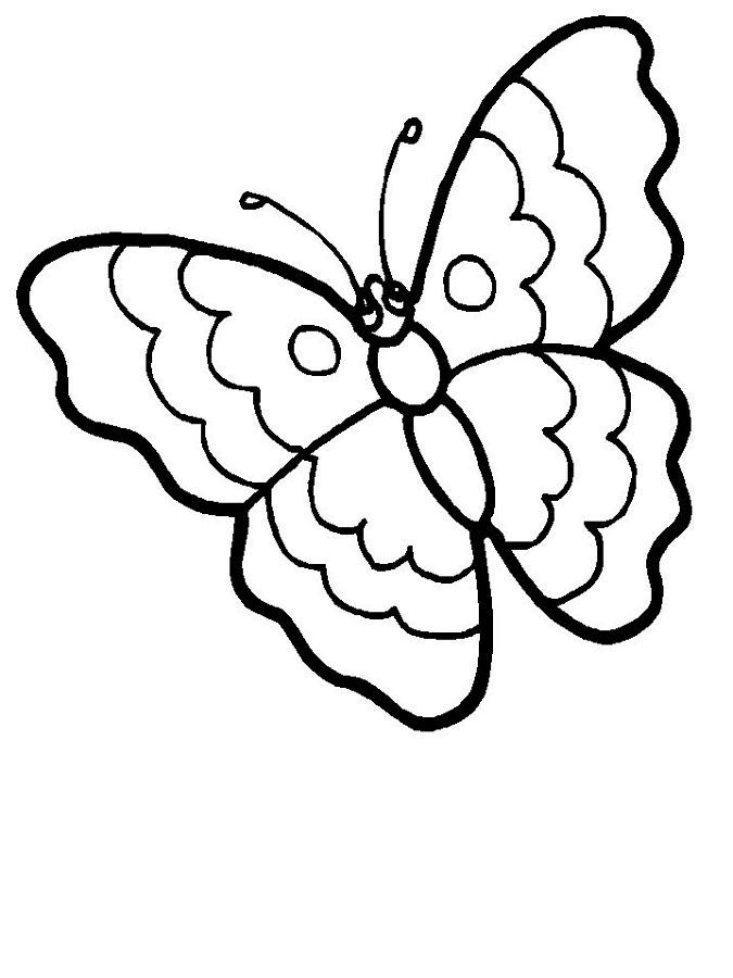 spring coloring pages at carnival bounce rentals a butterfly - Spring Butterflies Coloring Pages