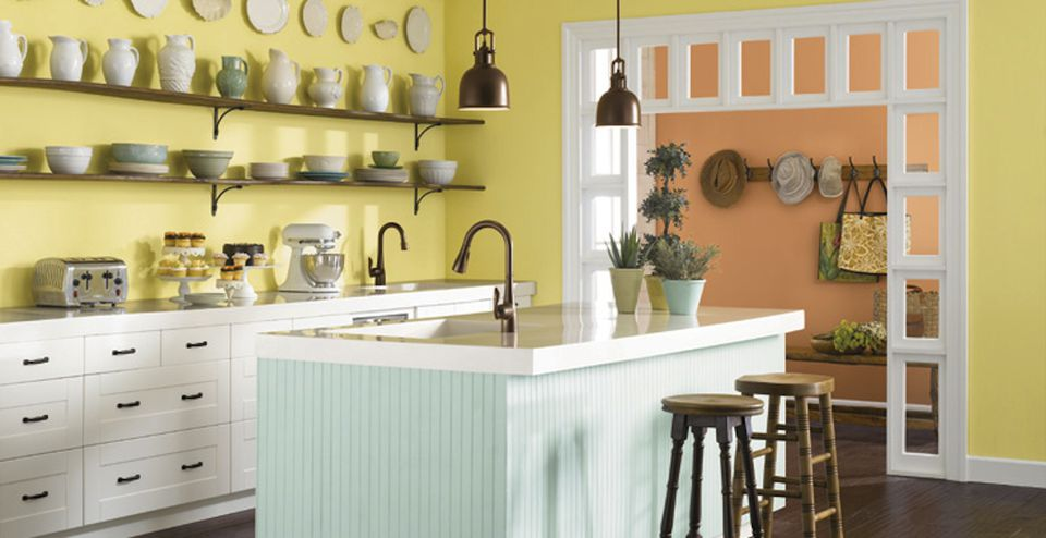 Warm Kitchen Color Scheme