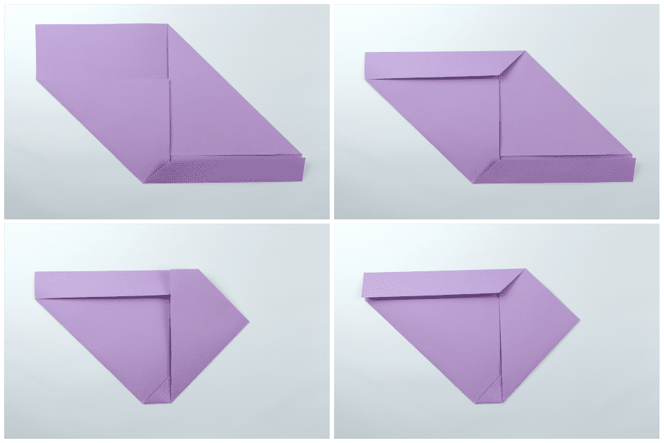 easy traditional origami letter fold