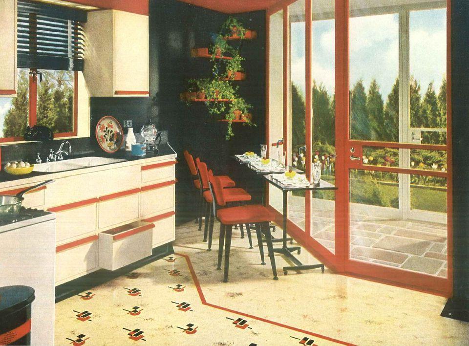 1940s Home Style - Kitchen Decor