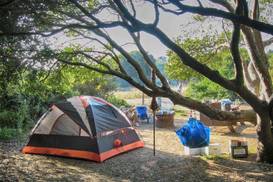 manresa state beach camping near santa cruz ca