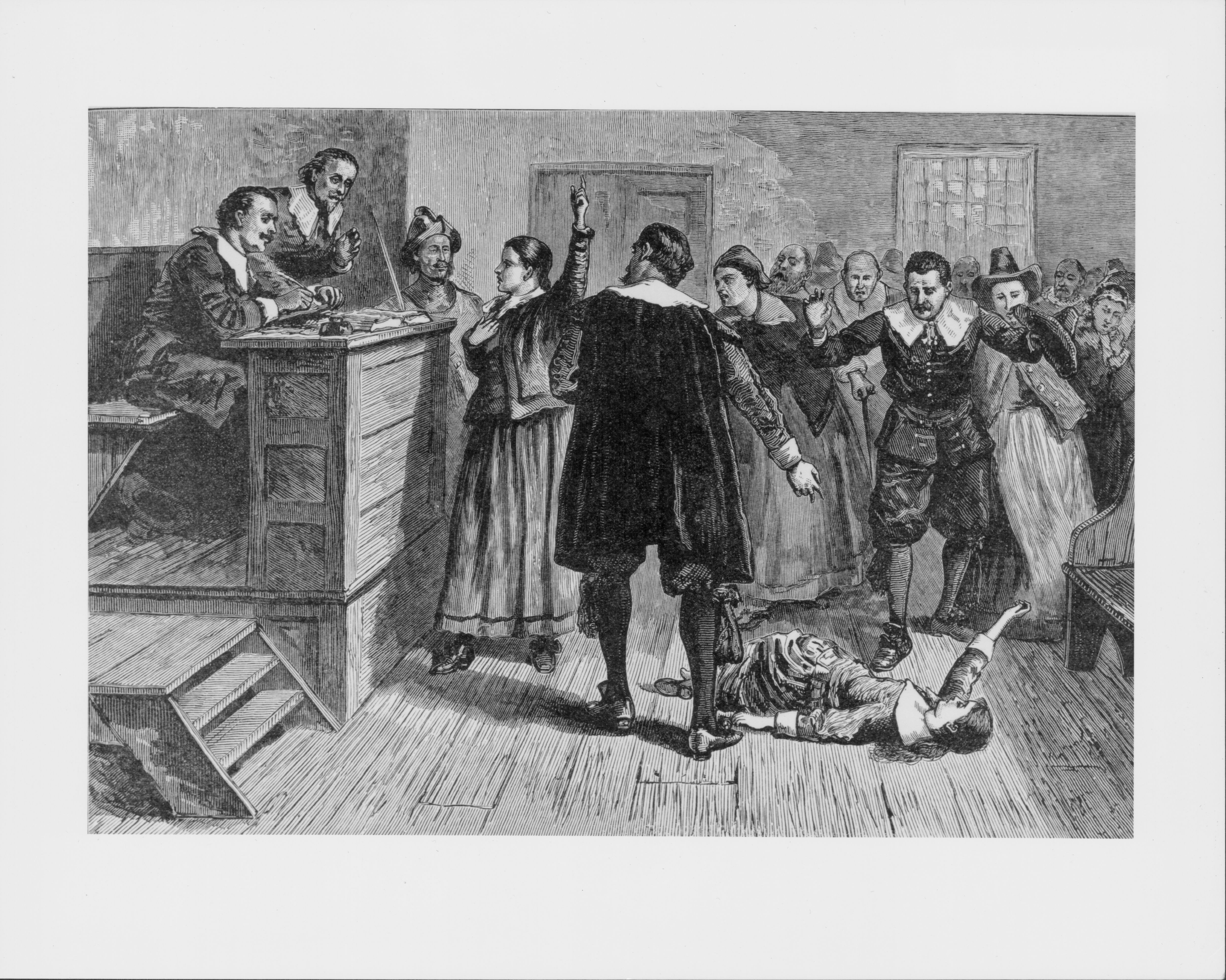 the details of the accused in the salem witch trials On the stand, the defendant was unable adequately to recite the lord's  samuel  parris, the salem minister, would have known every detail of.