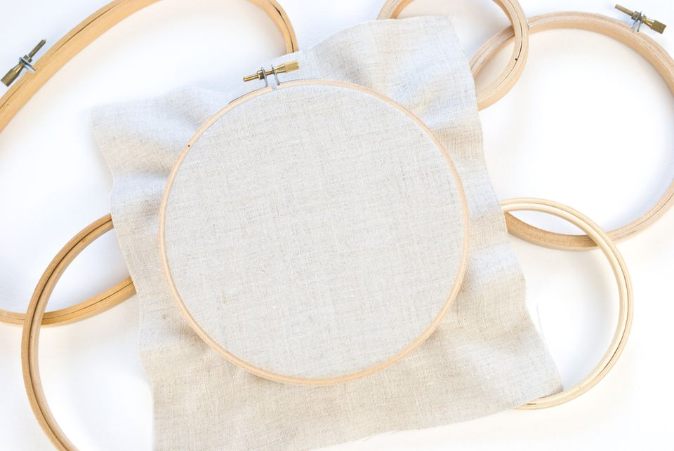 Learn How to Place Fabric in a Hoop