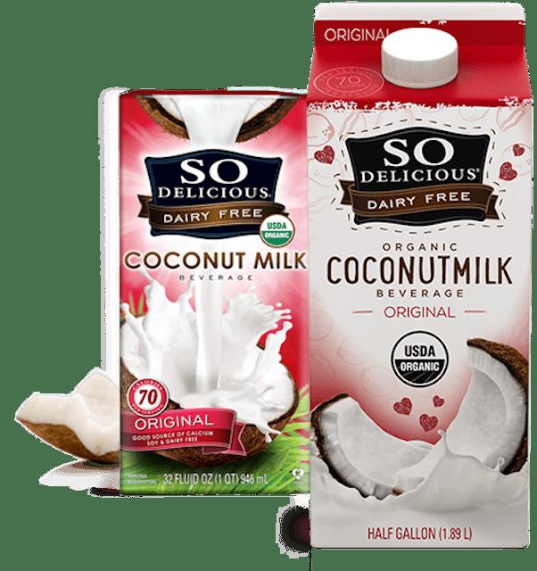 So Delicious Dairy Free Coconut Milk