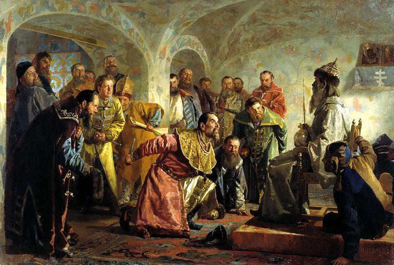 The Oprichniks by Nikolai Nevrev