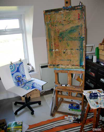 Setup for still life painting