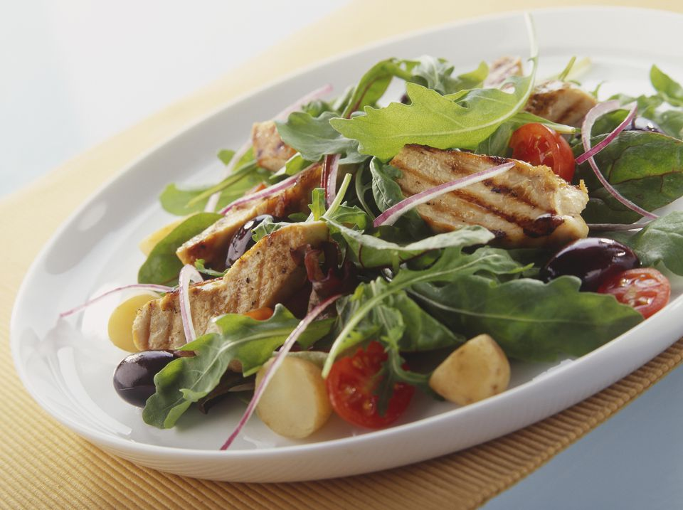 California Grilled Chicken Salad