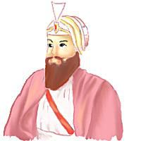 Artistic Impression of Guru Har Rai