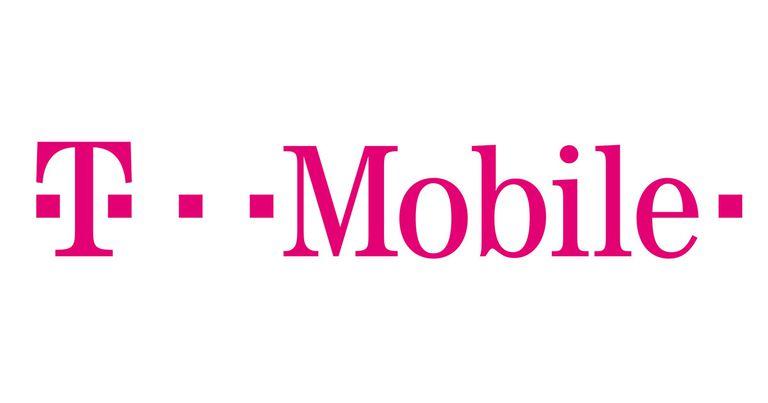 T-Mobile Logo, white background