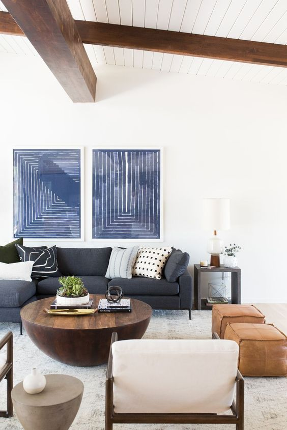 9 easy mid century modern decor diys Mid century modern living room decor