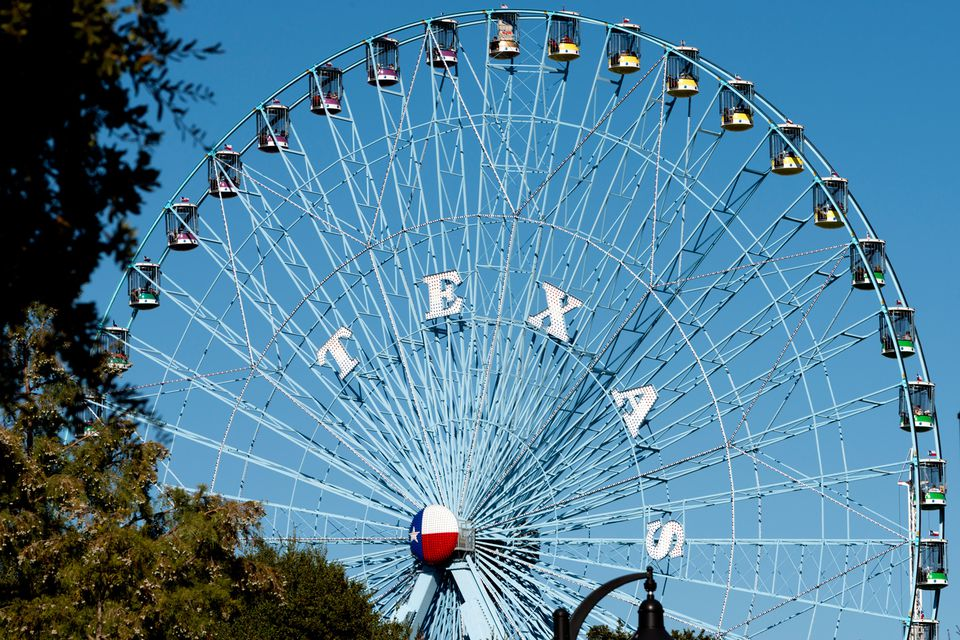 Texas state fair ferris wheel