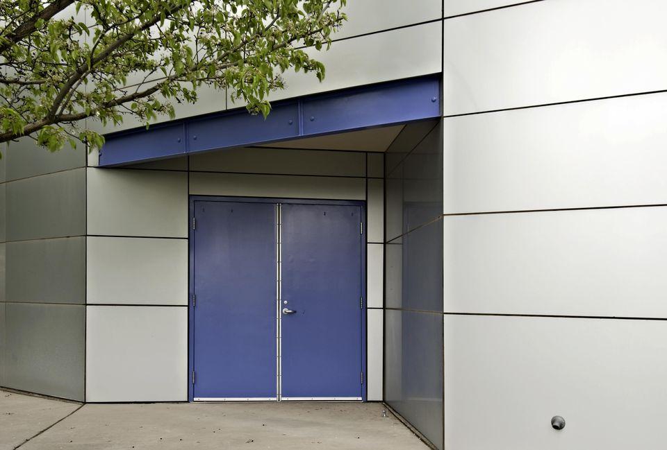 Door Detail - Modern Architecture, Office Building