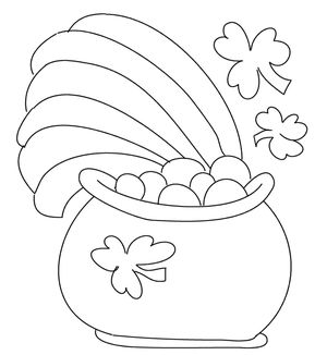 printable st patricks day coloring pages at billybear4kidscom - St Patrick Day Coloring Pages Free