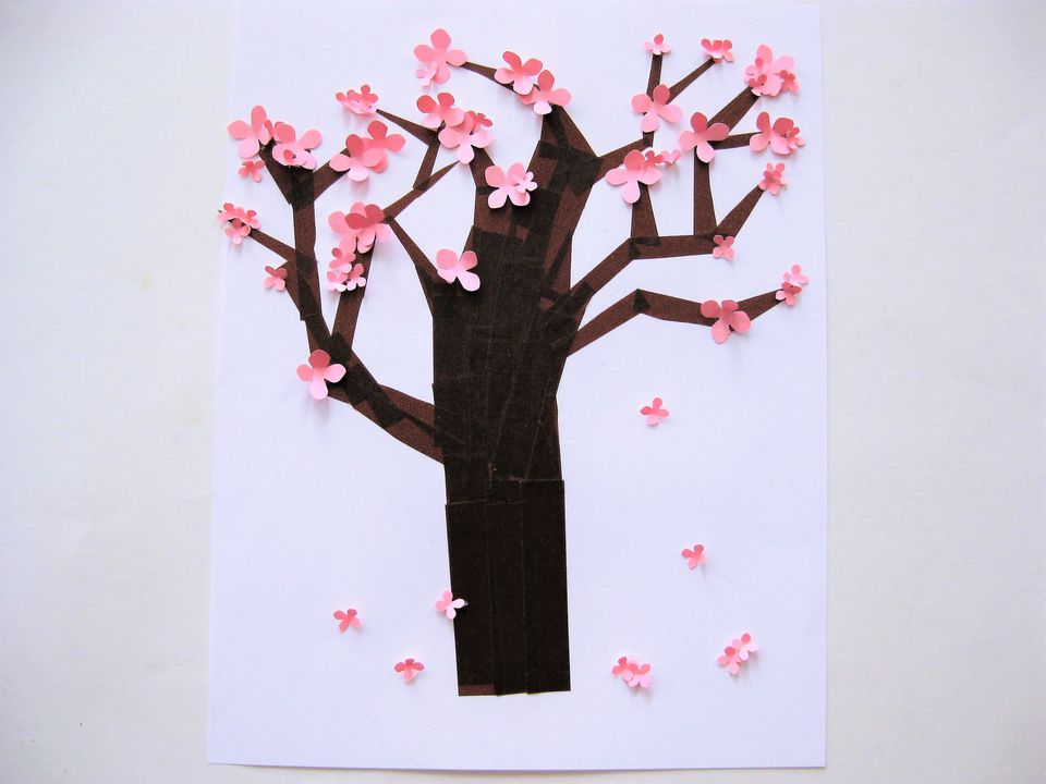 Easy Spring Tree Craft for Kids